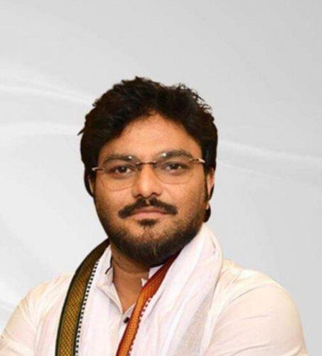 Union minister Babul Supriyo. (DH photo)