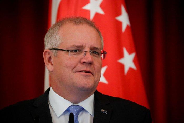 Australian Prime Minister Scott Morrison. (Photo by REUTERS)