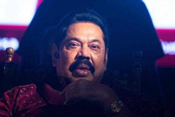 Sri Lanka's newly elected Prime Minister Mahinda Rajapaksa. (Photo by AFP)
