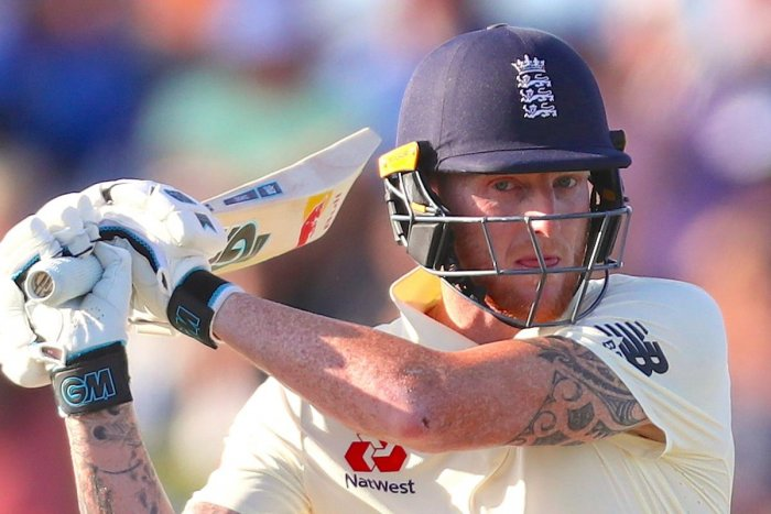 The honors were even when the New Zealand-born Stokes went to the middle just before tea on day one with England 120 for three. Photo/AFP