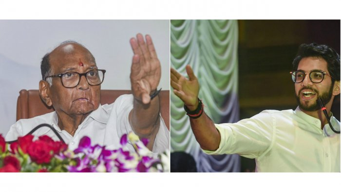 A senior NCP leader said the fight between the Shiv Sena and the BJP was for over the issue of chief ministership for two-and-half years each. (PTI Photos)