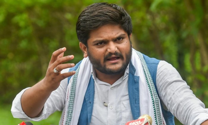 """Patel alleged that the country's youth were being """"misguided"""" in the name of religion and nationalism. Photo/PTI"""
