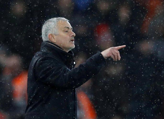 Jose Mourinho. (Reuters file photo)