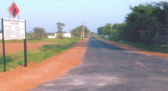 A view of a road developed under Pradhan Mantri Gram Sadak Yojana. (Representative Image)