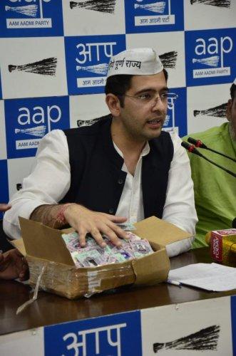 AAP national spokesperson Raghav Chadha. Representative Image. (File Photo)