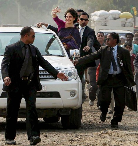 The move comes days after the government withdrew the SPG protection given to Congress president Sonia Gandhi and her children, Rahul Gandhi and Priyanka Gandhi Vadra, almost after three decades. (PTI File Photo)