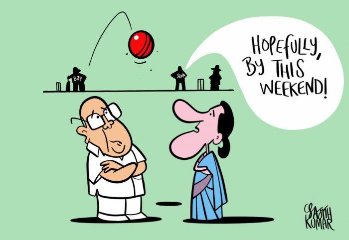DH Cartoon by Sajith Kumar