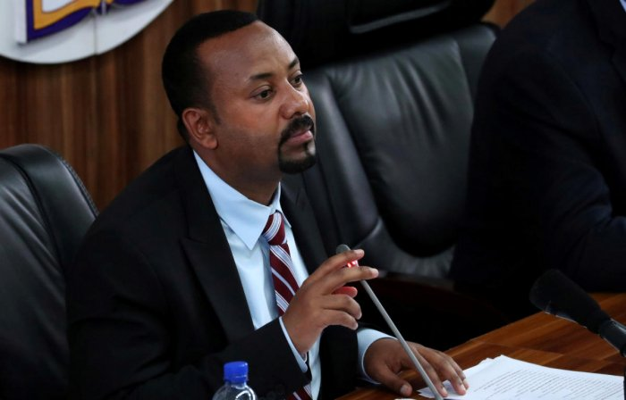 Ethiopia's ruling ethnic-based coalition has merged into a single party, Prime Minister Abiy Ahmed said, but a key faction boycotted the vote. Photo/REUTERS