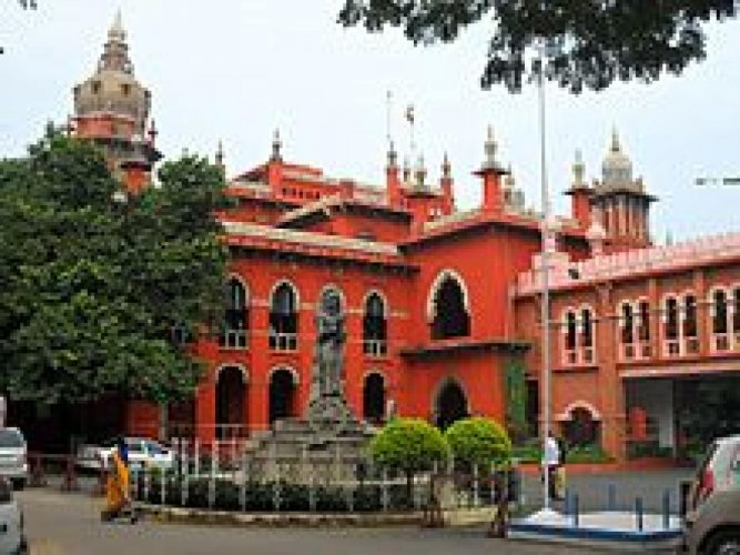 Madras High Court. (Photo by Wikipedia)