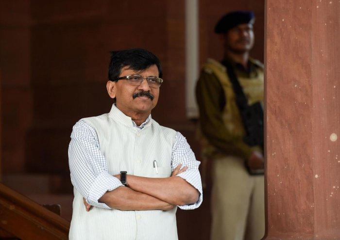 Shiv Sena MP Sanjay Raut. (PTI Photo)