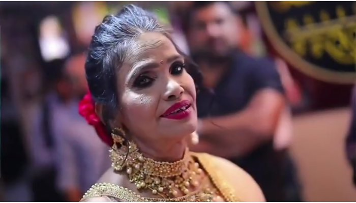 Trolls have targeted Ranu Mondal after a picture of her wearing makeup made it to social media.