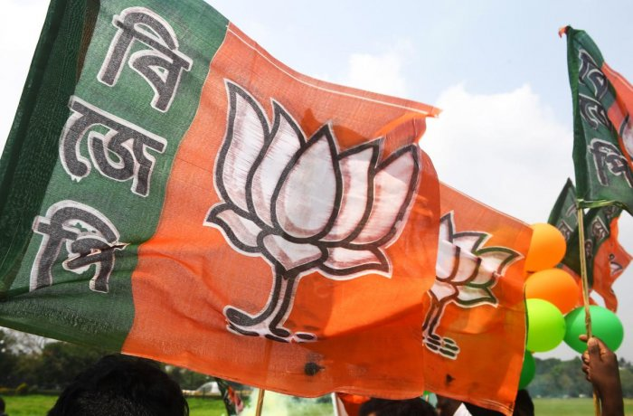 The party leadership's decision to field Prem Chandra Jha, a close aid of the state BJP chief did not go down well with a section of BJP leaders and workers. Photo/AFP