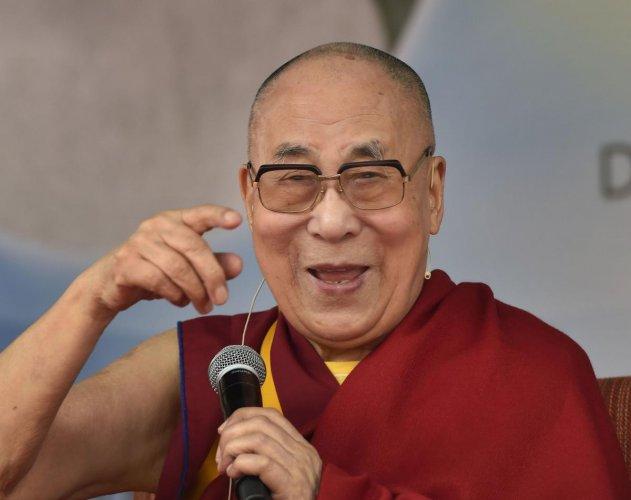 Tibetan spiritual leader the Dalai Lama. (PTI Photo)