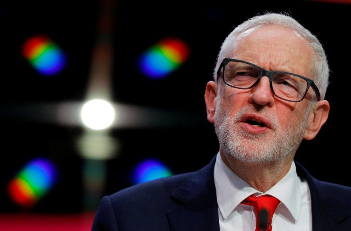 Leader of the Labour Party Jeremy Corbyn. (Reuters photo)