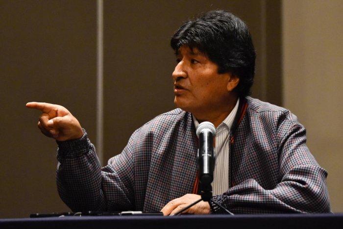 Bolivia's former president Evo Morales. (AFP file photo)