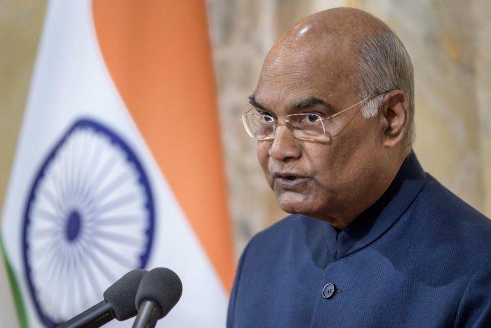 Indian President Ram Nath Kovind. (AFP file photo)