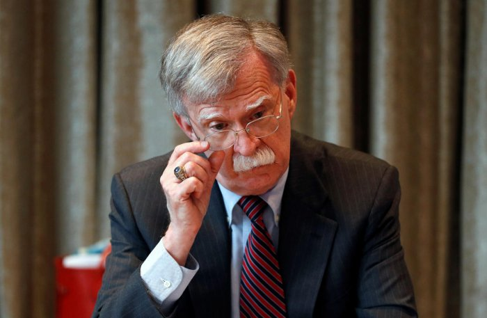 Former U.S. National Security Advisor, John Bolton (Photo by Reuters)