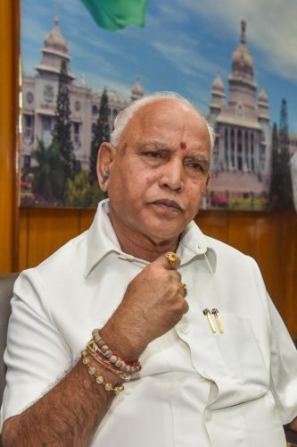 Yediyurappa told reporters that BJP National President Amit Shah too has assured that Savadi will remain in the post. (DH Photo)