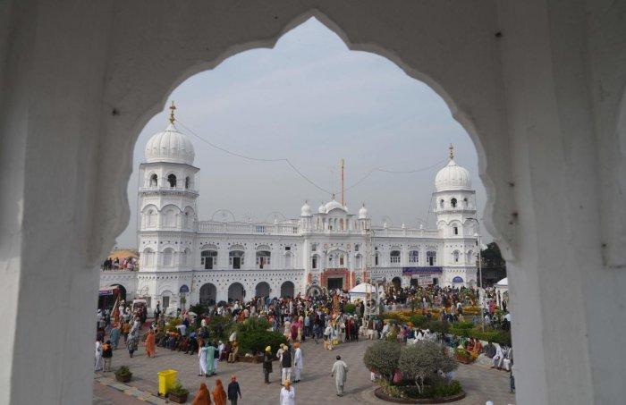 Guru Nanak Dev, at Nankana Sahib, a Pakistani city about 80 kilometres from the eastern city of Lahore. (Photo by AFP)