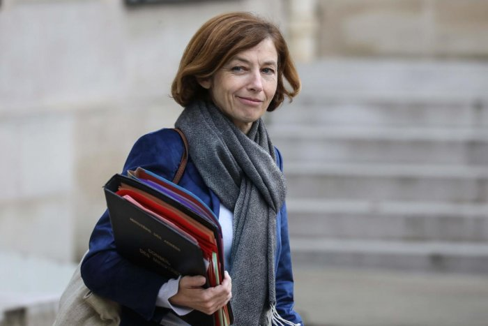 French Defence Minister Florence Parly. (AFP Photo)