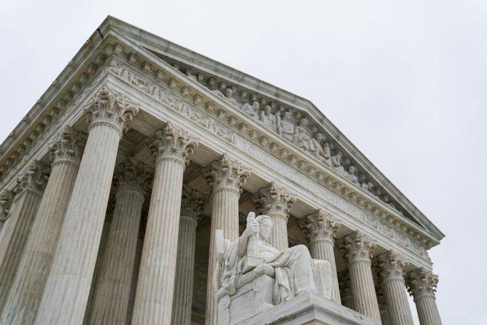 The U.S. Supreme Court is seen in Washington, U.S., June 11, 2018. (Reuters Photo)