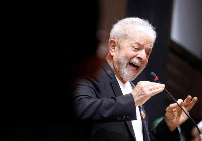 Former Brazilian President Luiz Inacio Lula da Silva. (Reuters Photo)