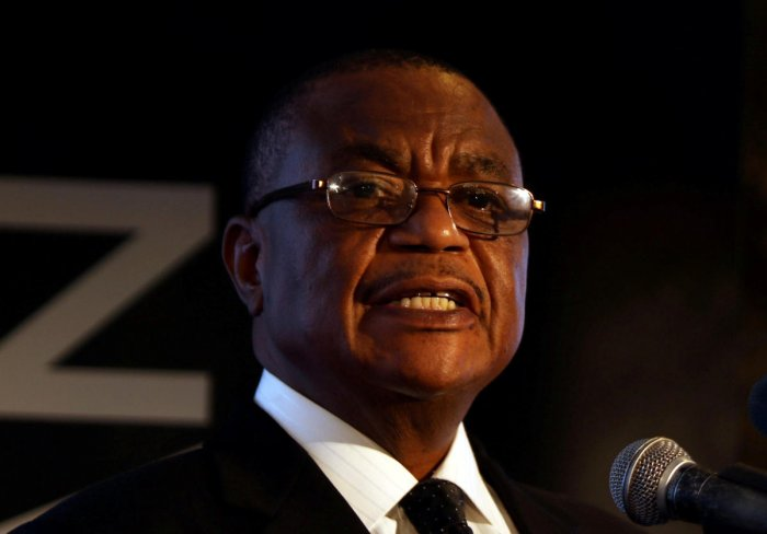 Zimbabwean Vice President Constantino Chiwenga. (AFP Photo)