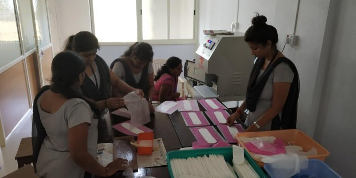 In Ujire, Dakshina Kannada, a new pad-making unit takes biodegradable and affordable sanitary napkins to its villages.
