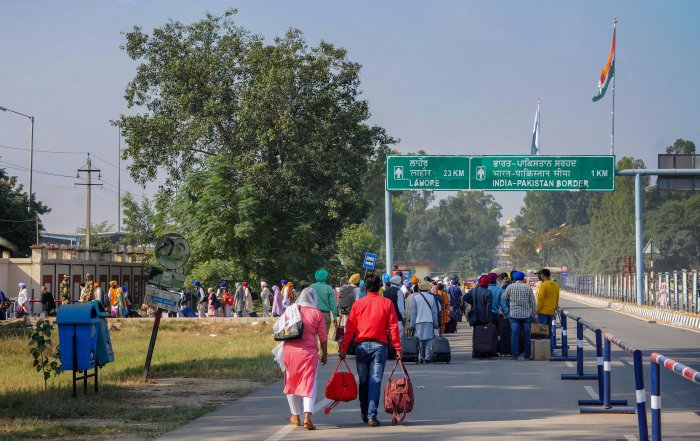The collapse of trade between India and Pakistan through the Attari-Wagah border in Punjab has severely hit the livelihood of scores of people linked to the trade in this border state. (PTI Photo)