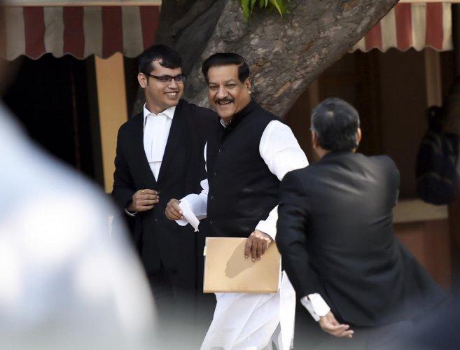 Senior Congress leader Prithviraj Chavan at Supreme Court, in New Delhi, Sunday, Nov. 24, 2019. (PTI file photo)