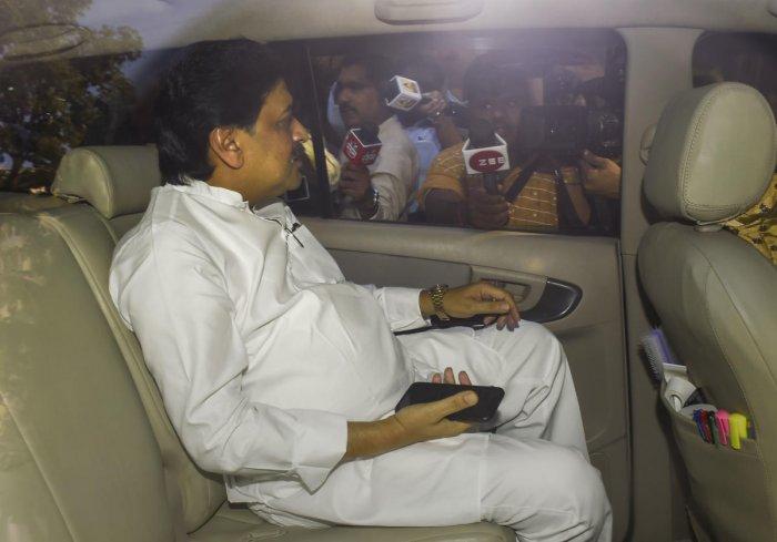 Senior Congress leader Ashok Chavan. (PTI Photo)