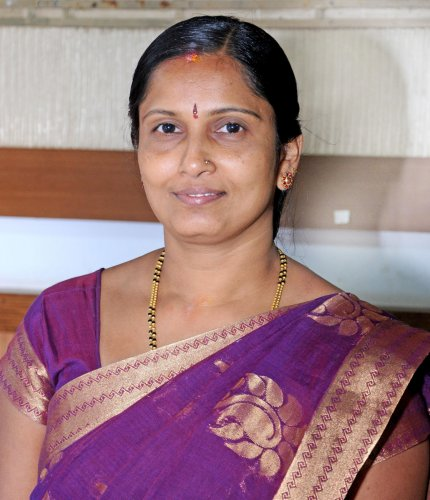 ZP President Meenakshi Shanthigodu