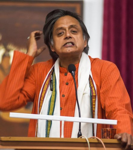 """He added a comment to the retweet """"Correction: Most recent use: 23 November 2019, Mumbai"""" referring to the political drama that was unfolding in the state. (PTI Photo)"""
