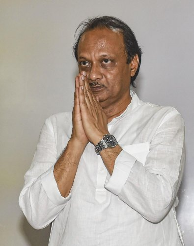 He spent Saturday at his brother's home in Mumbai even as his uncle and NCP chief Sharad Pawar attended a party meeting where most of the NCP MLAs were present. (PTI Photo)