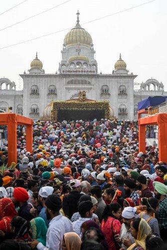 Bangla Sahib Gurudwara in New Delhi. (AFP Photo)
