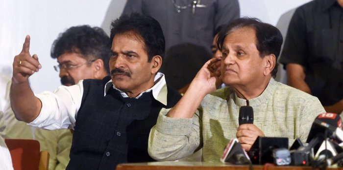 """ It is shameful that the President and the governor have stooped to the standard of RSS workers,' Congress general secretary (Organisation) K C Venugopal said. (PTI Photo)"