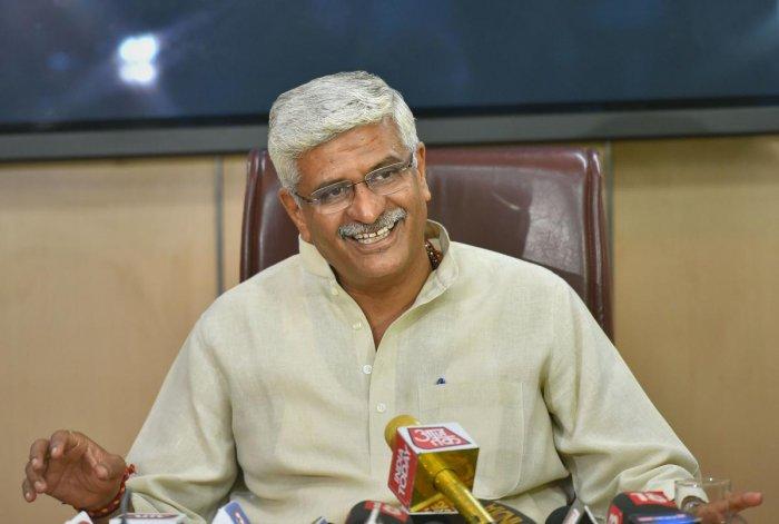 Jal Shakti Minister Gajendra Singh Shekhawat. (PTI file photo)