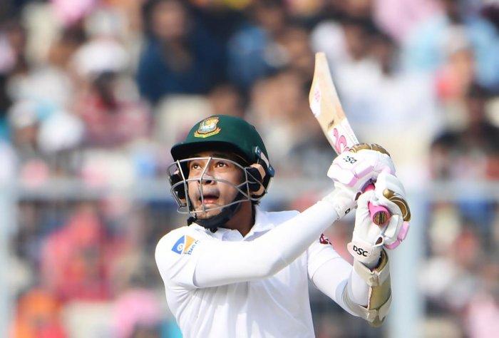 Barring Mushfiqur Rahim, none of the Bangladeshi batsmen managed to negotiate Indian bowlers. (AFP photo)