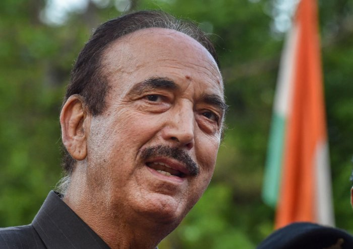 Ghulam Nabi Azad is also present in the meeting. (PTI file photo