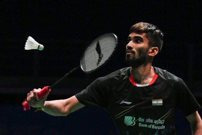 India's Kidambi Srikanth. AFP
