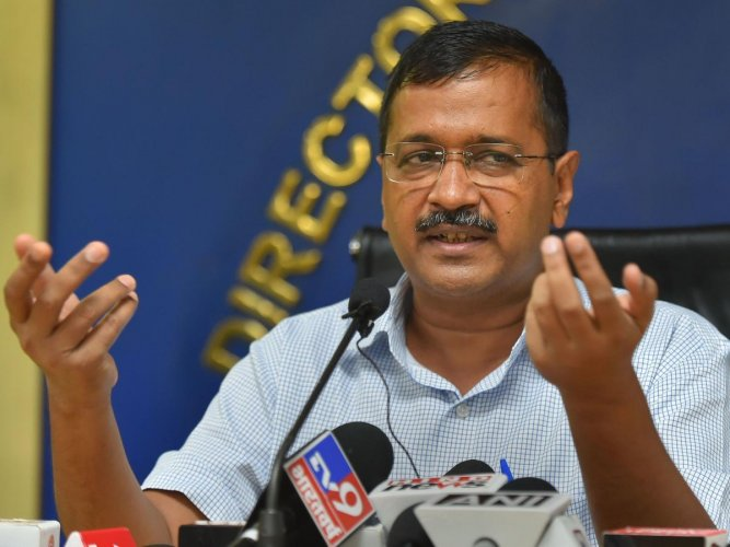 Kejriwal alleged that the BJP wants to regularise unauthorised colonies but does not want to grant registry. (PTI Photo)