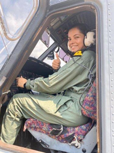 Lt Shivangi