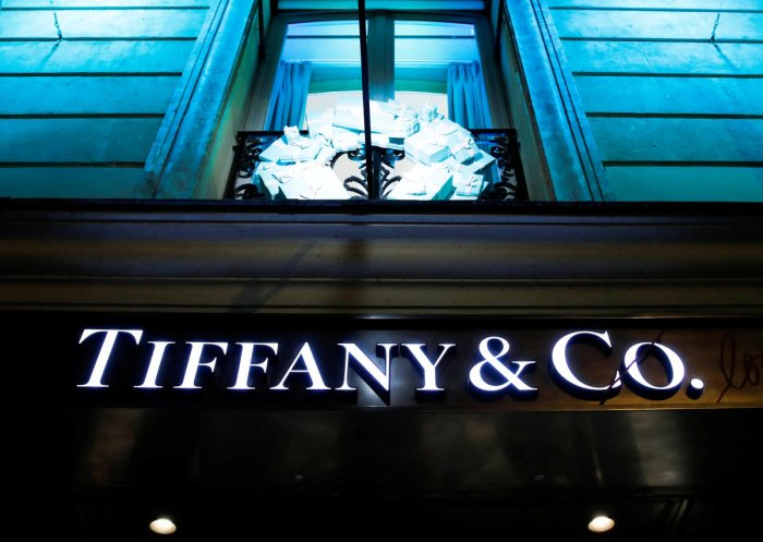 The deal between LVMH and Tiffany comes after LVMH spent more than a month wooing Tiffany, the most iconic of US luxury brands known for its wedding rings and diamonds. Photo/REUTERS