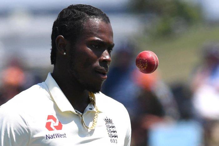 Cricket - New Zealand v England - First Test - Bay Oval, Mount Maunganui, New Zealand - November, England's Jofra Archer. (REUTERS)