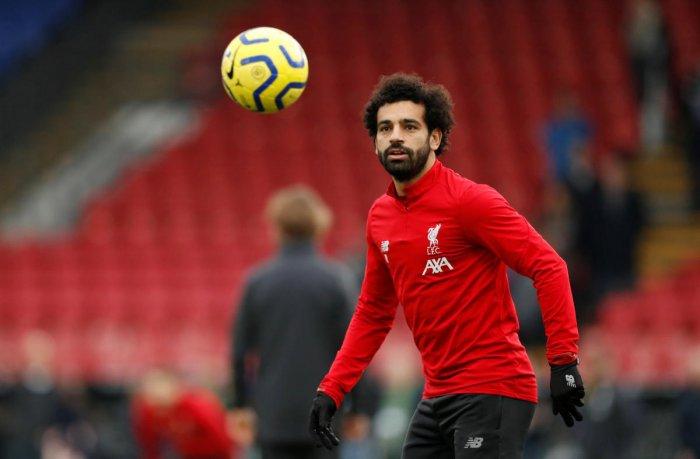 Liverpool's Mohamed Salah. (Reuters photo)