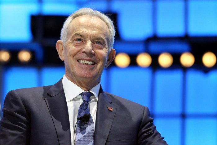 Britain's former Prime Minister Tony Blair. (Reuters photo)