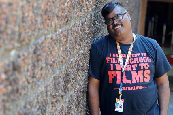 Film Director Dayal Padmanabhan at International Film Festilva India, Goa 2019. (DH Photo: Pushkar V)
