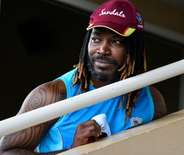 Chris Gayle. (AFP file photo)