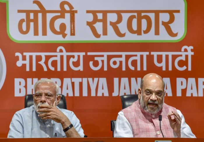 The set back in Maharashtra is bound to spike BJP's troubles with demanding allies in many other states even as it has boosted the morale of the Opposition. Photo/PTI