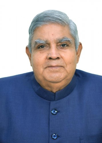 West Bengal Governor Jagdeep Dhankhar. Photo by DH